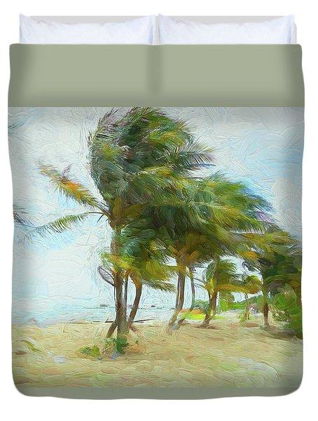 Caribbean Getaway Duvet Cover