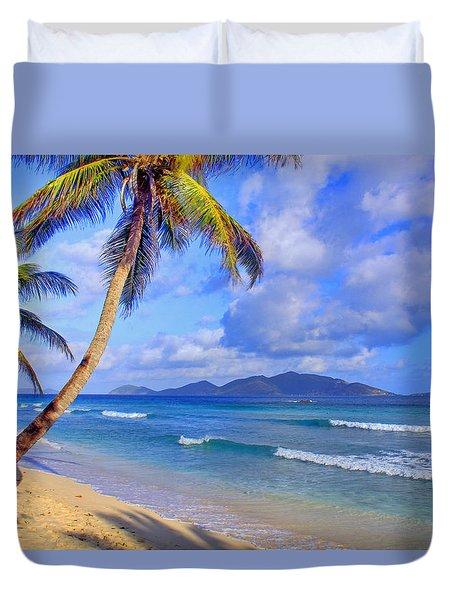 Caribbean Paradise Duvet Cover by Scott Mahon