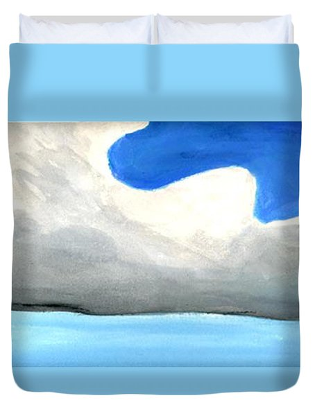 Caribbean Trade Winds Duvet Cover by Dick Sauer