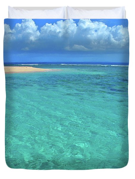 Caribbean Water Duvet Cover