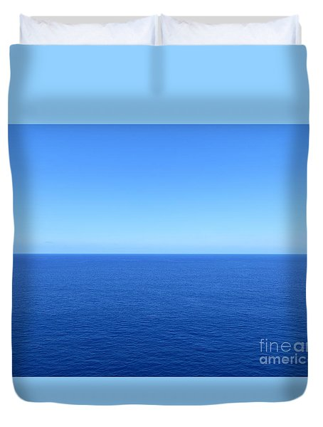 Caribbean Wide Open Duvet Cover