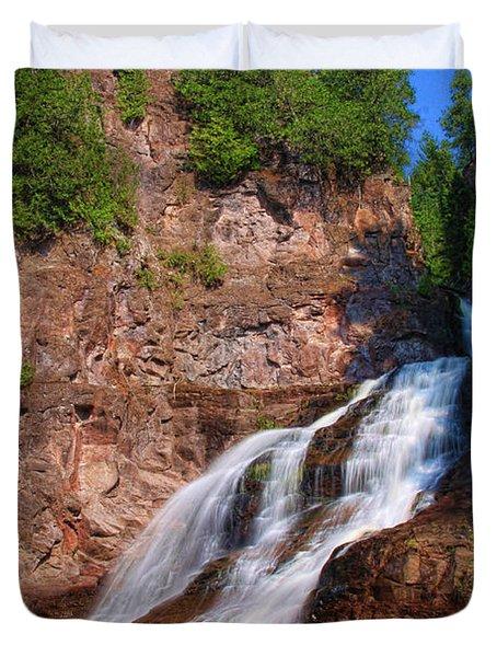 Caribou Falls Duvet Cover