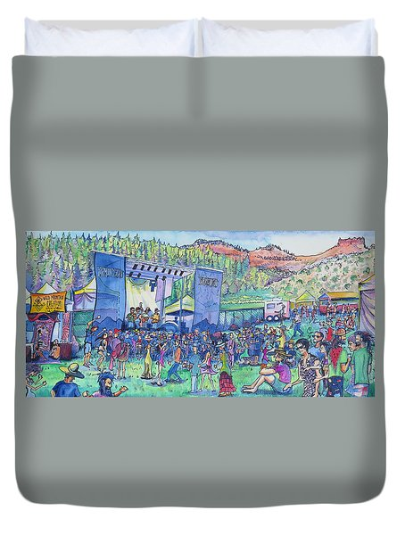 Caribou Mountain Collective At Yarmonygrass Duvet Cover