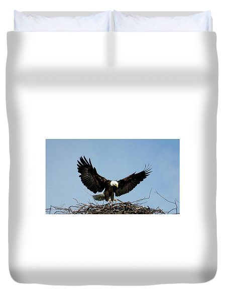 Cape Vincent Eagle Duvet Cover