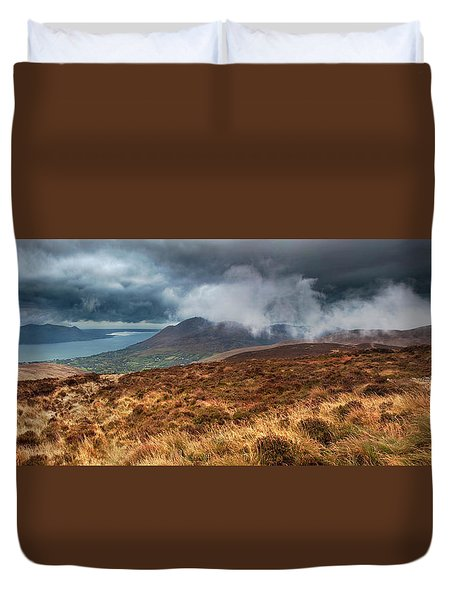 Carlingford Lough Duvet Cover