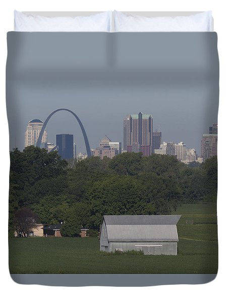 Carl's Barn Duvet Cover