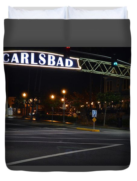 Carlsbad 24 Duvet Cover by Bill Dutting