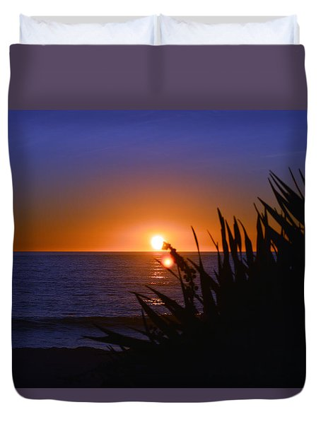 Carlsbad Romance Duvet Cover by Bill Dutting