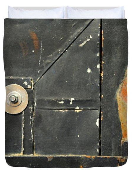 Carlton 10 - Firedoor Detail Duvet Cover