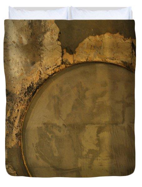 Carlton 3 - Abstract Concrete Duvet Cover