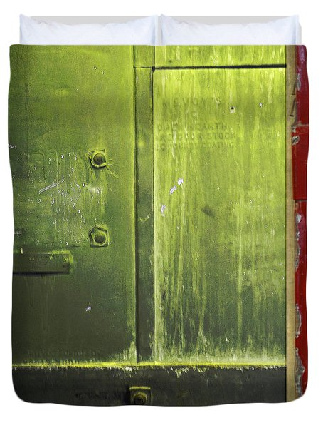 Carlton 6 - Firedoor Abstract Duvet Cover