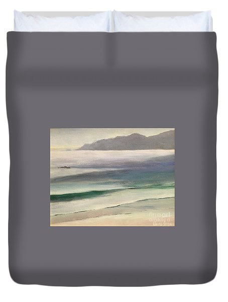 Carmel Beach Duvet Cover