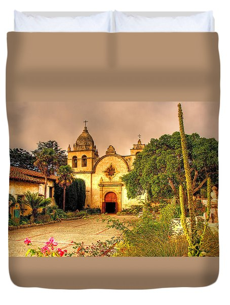 Carmel Mission Duvet Cover