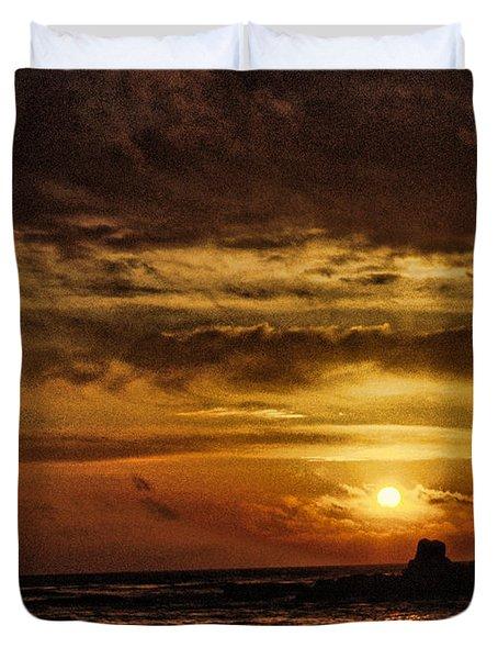Carmel Sunset Duvet Cover