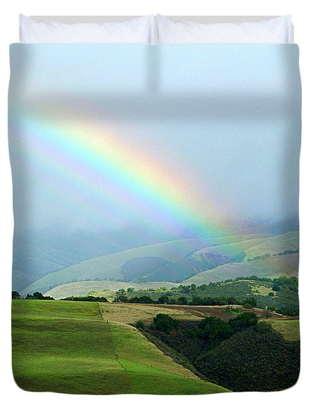 Carmel Valley Rainbow Duvet Cover