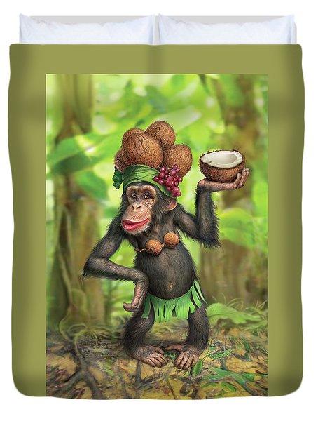 Carmen Coconuts Duvet Cover