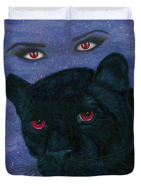 Carmilla - Black Panther Vampire Duvet Cover