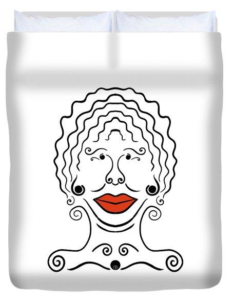 Carmina Duvet Cover
