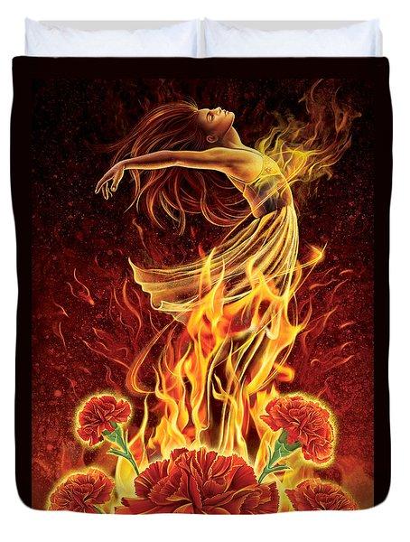 Carnation - Rebirth Duvet Cover