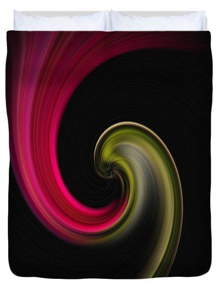 Carnation Twirl Duvet Cover