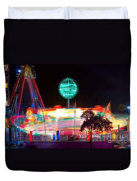 Carnival Excitement Duvet Cover by James BO  Insogna