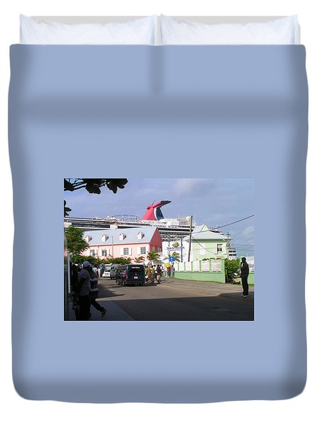 Carnival In Town Duvet Cover
