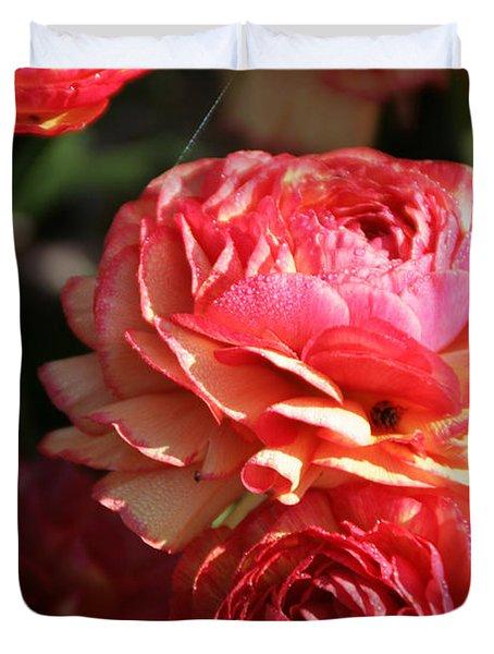 Carnival Of Flowers 02 Duvet Cover