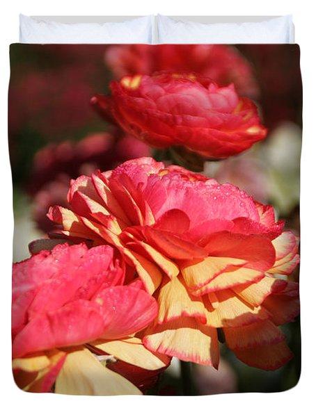 Carnival Of Flowers 03 Duvet Cover