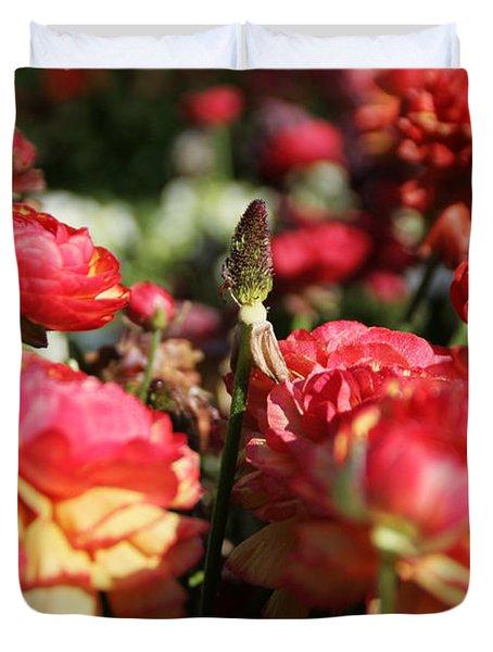Carnival Of Flowers 04 Duvet Cover