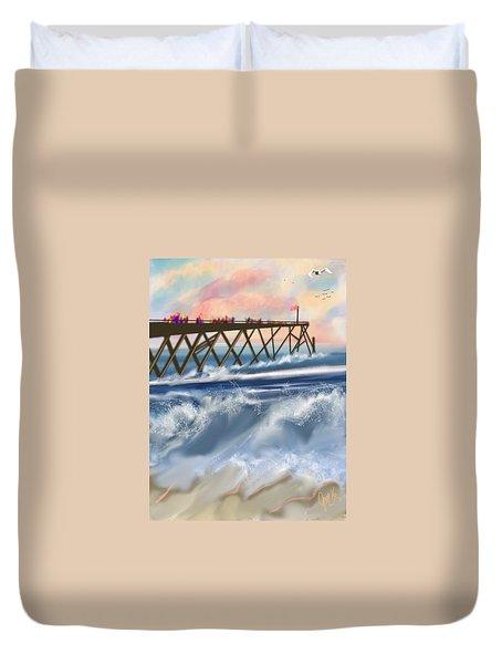 Carolina Beach Duvet Cover