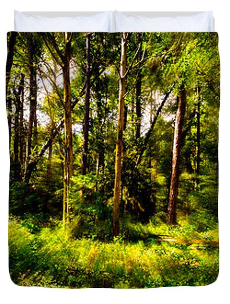 Carolina Forest Duvet Cover