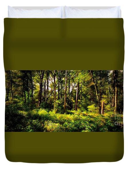 Carolina Forest Duvet Cover by David Smith