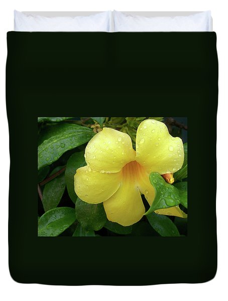 Carolina Jasmine Duvet Cover by Larry Bishop