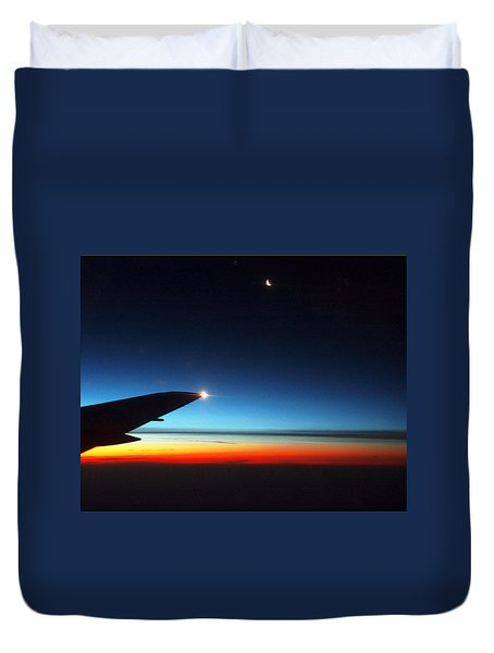 Carolina Sunrise Duvet Cover