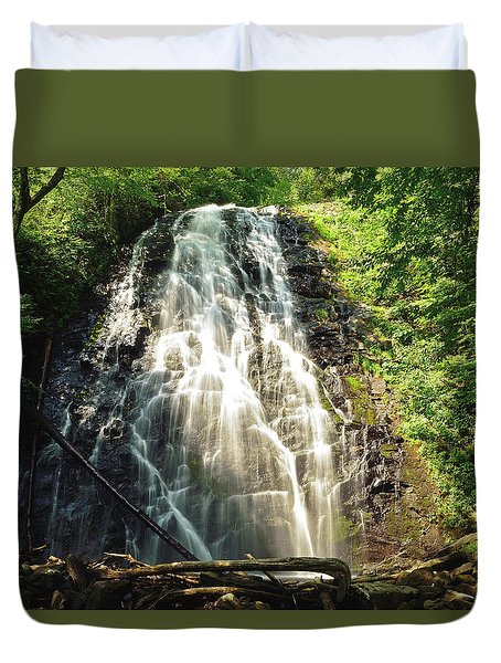Carolina's Crabtree Falls Duvet Cover