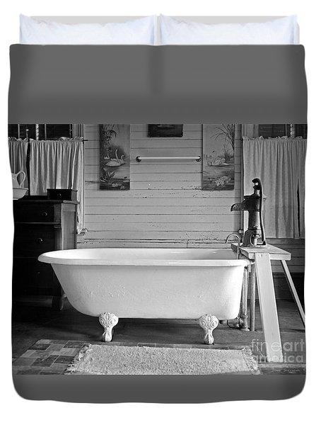 Caroline's Key West Bath Duvet Cover by John Stephens