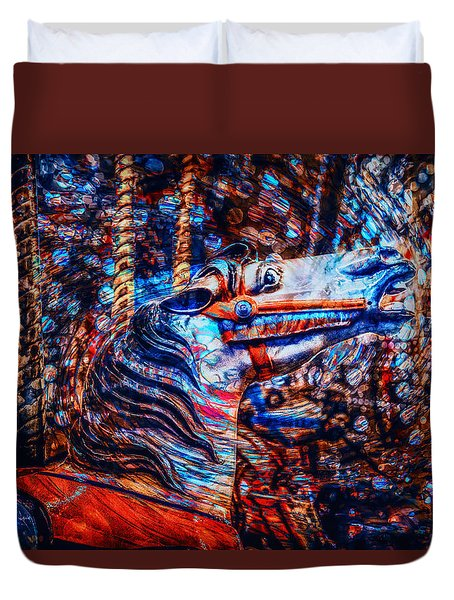 Carousel Dream Duvet Cover