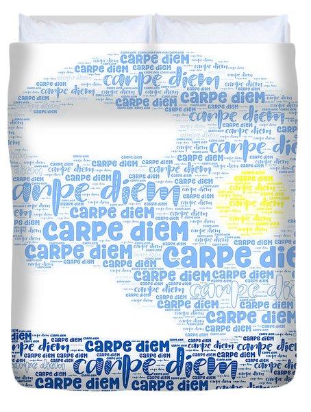 Carpe Aestatem Duvet Cover