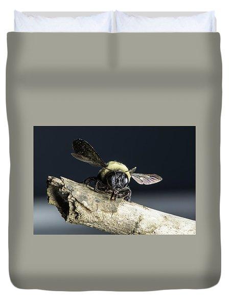 Carpenter Bee Duvet Cover