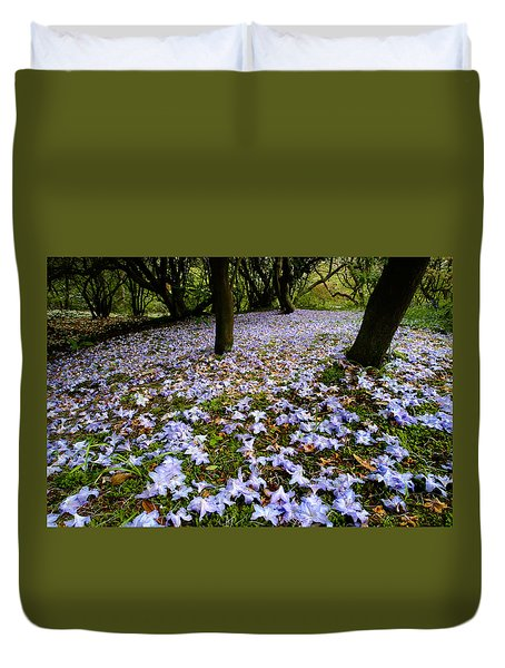 Carpet Of Petals Duvet Cover