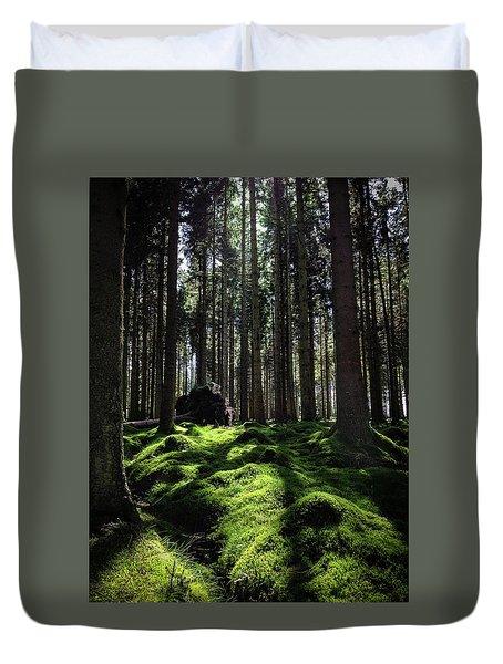 Carpet Of Verdacy Duvet Cover