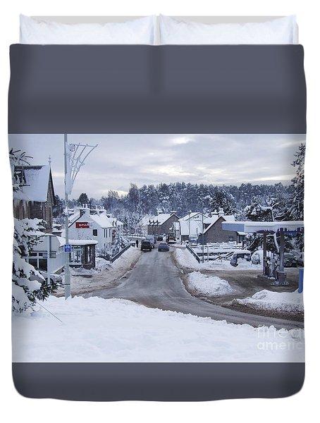 Carrbridge - Mid Winter Duvet Cover