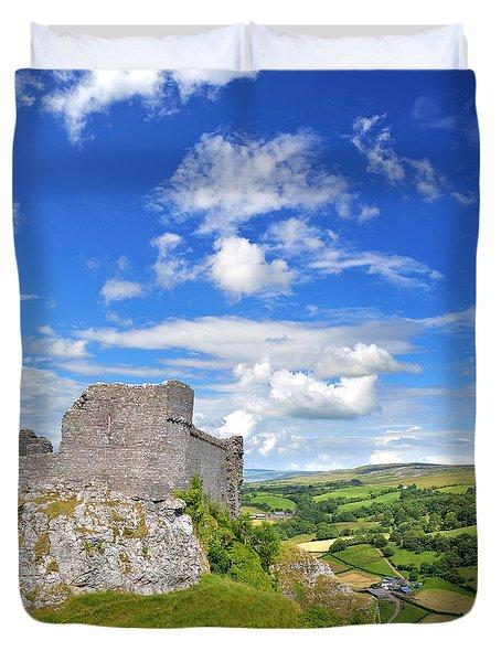 Carreg Cennen Castle 1 Duvet Cover