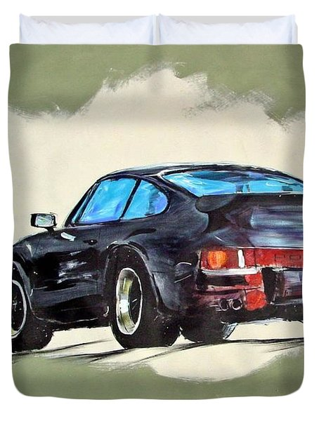 Carrera Duvet Cover