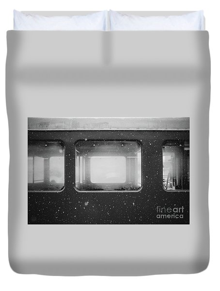 Duvet Cover featuring the photograph Carriage by MGL Meiklejohn Graphics Licensing