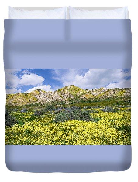 Carrizo Spring Duvet Cover by Bjorn Burton