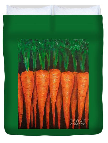 Carrots Duvet Cover