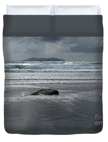 Carrowniskey Beach Duvet Cover