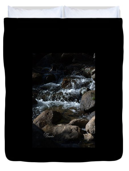 Carson River Duvet Cover by Lynn Bawden