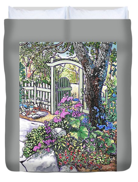 Carter Garden Duvet Cover